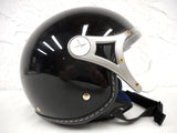 Black Urban Motorcycle Helmet ECER 22-05, Size Large 59-60 cm, 7 3/8 – 7 1/2 in Hat Size