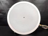 "Bose Freespace 3 Series II Loud Speaker 200W 15"" Dia  In-Wall Enclosed Invisible Speaker, Circular Sphere Round, White"