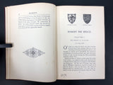Antique 1899 Book Robert The Bruce by Maxwell, Braveheart, Molson Frasier Library