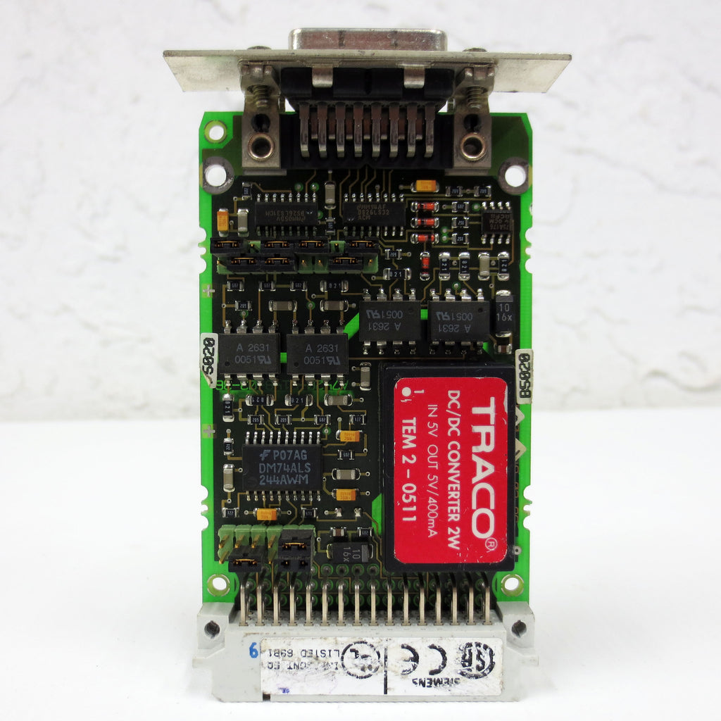Siemens Simatic S5 Interface Module 6ES5752-0AA43 / 6ES5 752-0AA43, 48Pin/15Pin