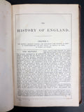 1870 Antique History of England by Thomas Gaspey, Complete 23 Books, Engravings