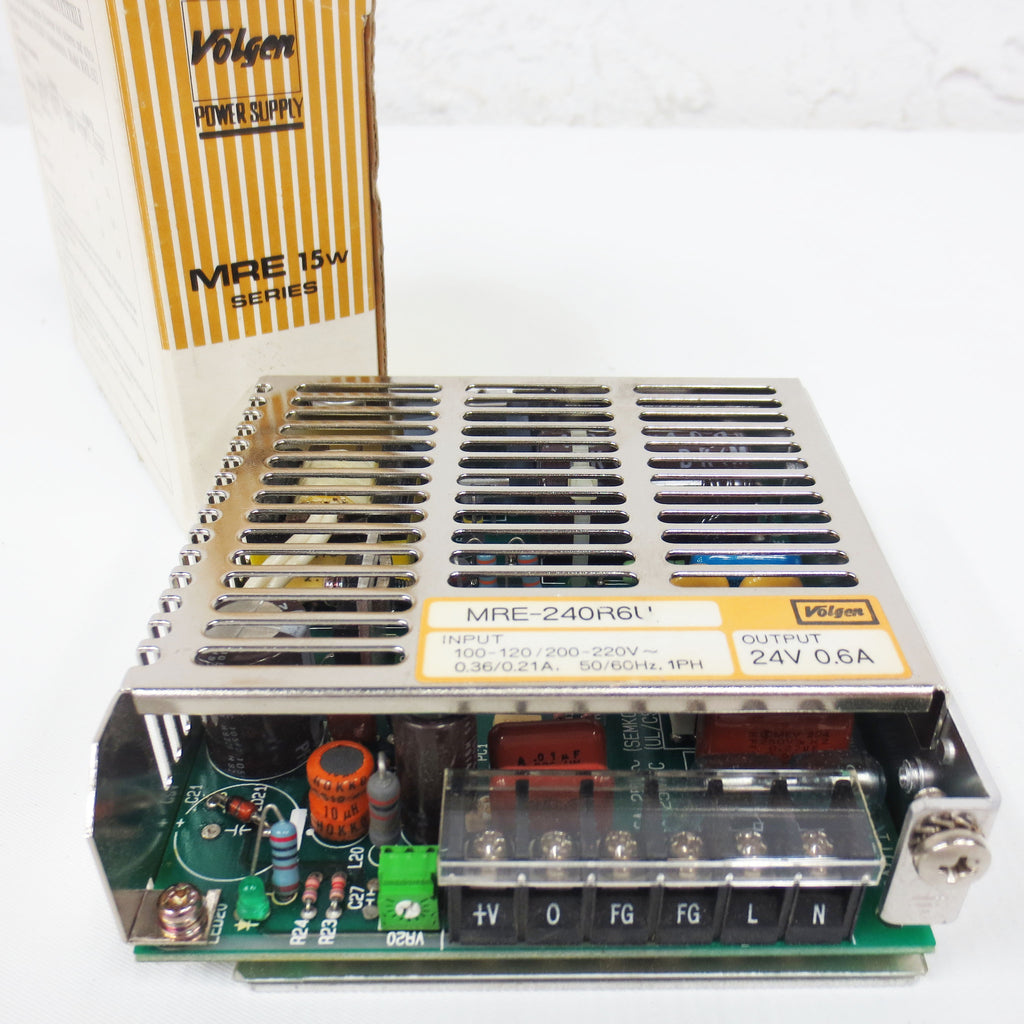 New Volgen MRE 15W Series Power Supply 24V 0.6A Output with box, Lot #1