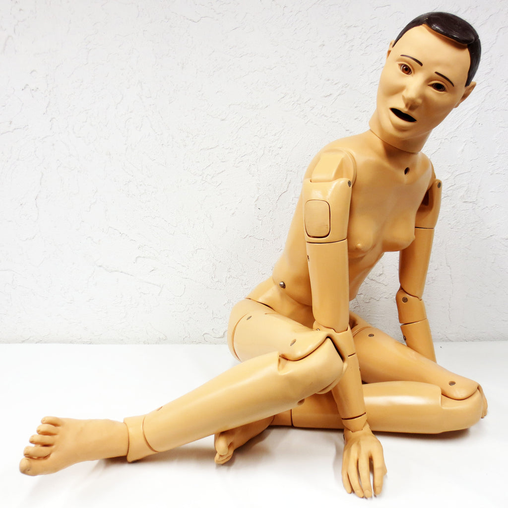 "Medical Airway Manikin 59"" Full Size Nasco Lifeform, Articulated Waist Arms Legs"