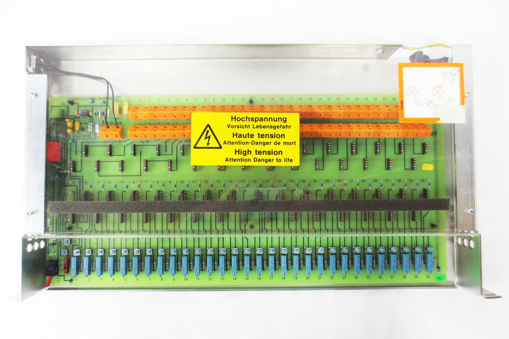 New ARL Fisons High Voltage 2350V Control Board S701361 w/ 30 Waco Outputs, Gonio