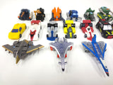Lot of 20 Takara Mini Autobot Robot Transformers, 2002-2004 Armada Super-Cons, Super-Class, Max-Cons, Energon and Micron Densetsu Mini-Cons