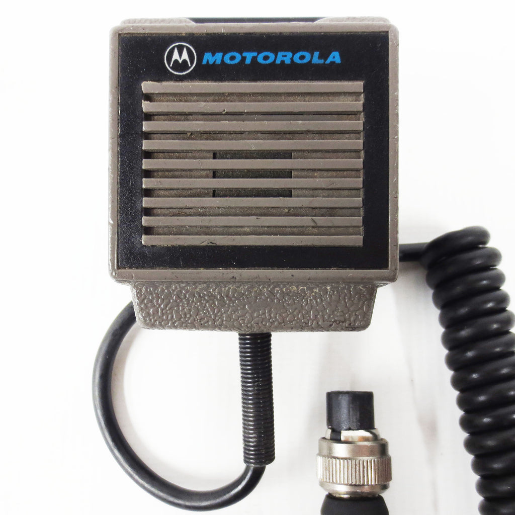 Motorola Microphone Speaker NMN6095A for VHF/UHF 2 Way Radio, 4 Pin Cable