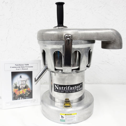 Nutrifaster N450 Commercial Juice Extractor Professional Juicer Processor 1.25HP