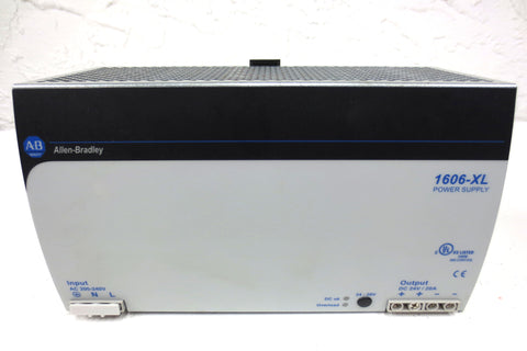 Allen Bradley AC/DC Power Supply 1606-XL480E Series A, 24-28 VDC, 480W