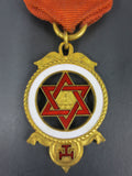 Vintage Masonic Medal Royal Arch Masons, Mount Horeb No 6, 1847-1947