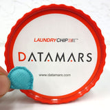 500 New Datamars UHF RFID Laundry Chips Tags in Sewn Pockets Model T-BT7711, High Speed 19' Reading Distance