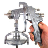 Iwata Wider 87 W87 Commercial Paint Spray Gun w/ K2 Tip and Iwata Paint Cup Lid