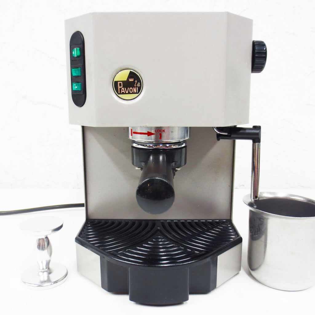 Pavoni Espresso Coffee Machine Model 2a EP 12 from Italy Complete w/ Accessories
