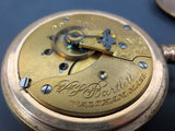 Antique 1902 Waltham Bartlett Railroad Pocket Watch 17 Jewels Model 1883