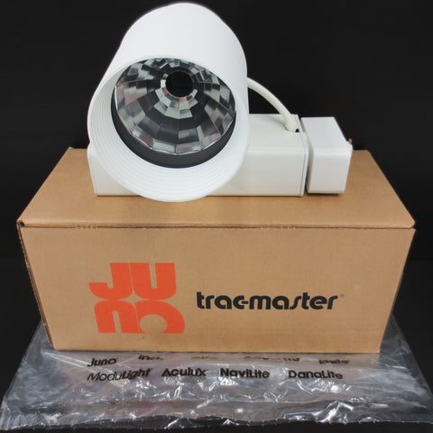 New Juno Trac-Master Lighting Spotlight TM232, 6400 Lumens 70 Watts T4.5, Swivel