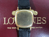 Antique 14k GF Longines Watch 15J, World's Fair Red Velvet Box