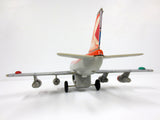"Vintage CP Air 747 Boeing Tin Toy Airplane, Nomura Japan, 13"" Airplane"