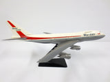 "Vintage Wardair Canada Boeing 747 Model Airplane 10.5"" Closed Airline, NM"