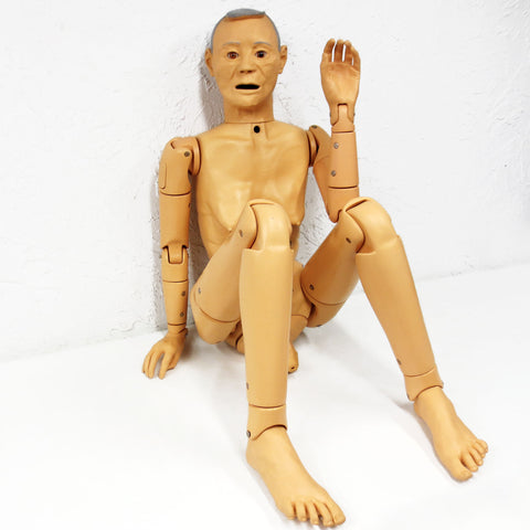 "Medical Airway Manikin 56"" Full Size by Nasco Lifeform, Articulated Waist, Arms, Legs"