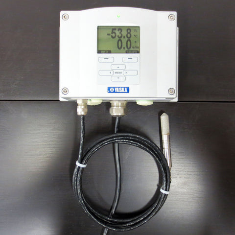 Vaisala HMT337 Dewpoint & Temperature Transmitter with Probe & Power-1 Supply