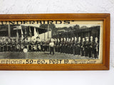 "45"" Long Vintage Photo 1959 Thunderbirds State Champions Football Fanfare Band"