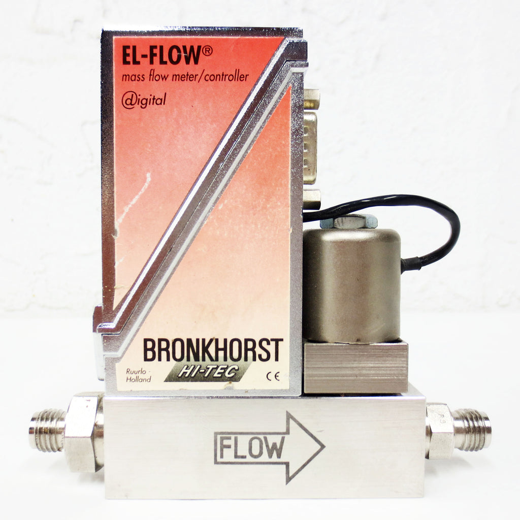 Bronkhorst EL-Flow Air Mass Flow Meter/Controller F-201C-AGB-33-V, 4 In/min