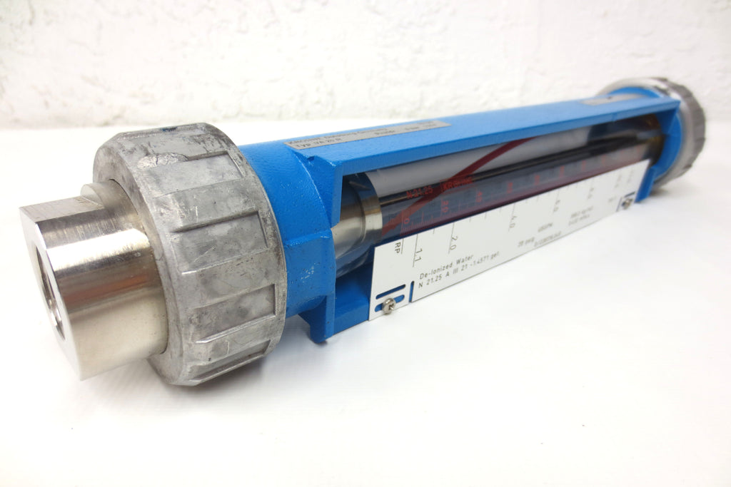 New Krohne Variable Area Flow Meter VA20R VA-20-R, 6 Bar, 20 Psig, 150°F, Gases