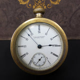 Rare Antique 1893 Waltham Salesman Sample Pocket Watch