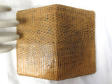 "Vintage Genuine Snake skin Men's Wallet, 6 X 4"", 5 Pockets Bi-fold, Great Design"