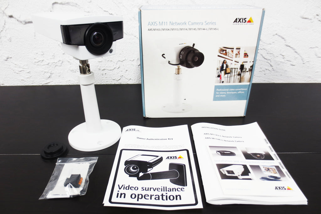 New Axis M1144-L Network Security Camera for Video Surveillance, HDTV, Infrared