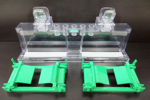 Bio-Rad Mini-Protean Tetra Cell Electrophoresis Gel Casting Frame, Stand, Gasket