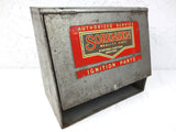 Vintage Sorensen Garage Advertising Display, Ignition Parts, Man Cave
