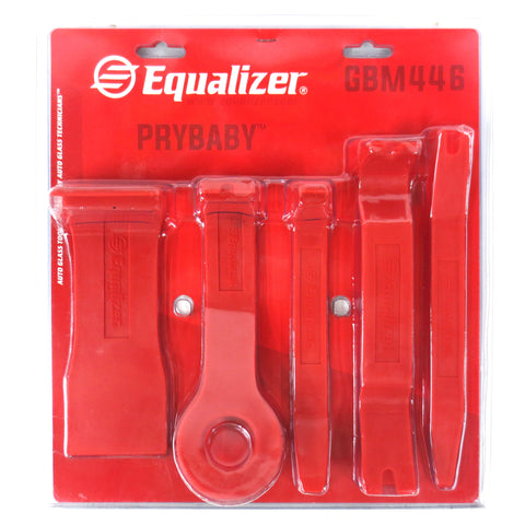 New Pro 5pce Set Pry Bars by Equalizer Auto Glass for Trim, Panel, Cover Removal