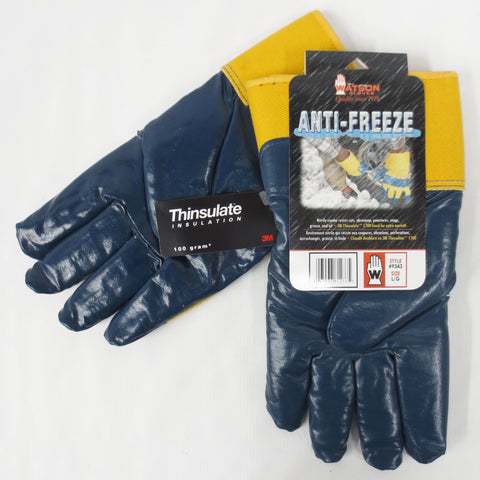 Professional Work Gloves C100 Gram 3M Thinsulate Insulation with Nitrile Anti Freeze, Large