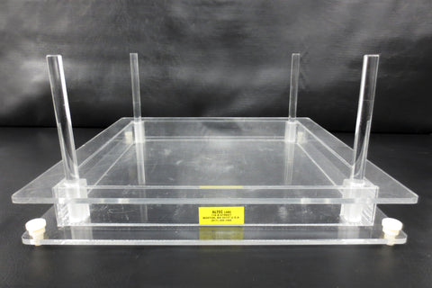 "Large 12X12"" Electrophoresis Agarose Gel Casting Tray by Altec Labs, Research"