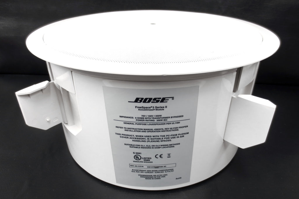 "Bose Freespace 3 Loud Speaker 200W 15"" Dia. In-Wall Enclosed Invisible Speaker"