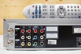Toshiba DVD Player and Hi-Fi Stereo Video Cassette Recorder VCR SD-V383SC, Remote SE-R0066