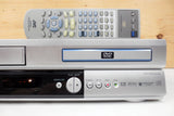 JVC DVD Player and Hi-Fi Stereo Video Cassette Recorder VCR HR-XVC1U, Remote 076D0FB010
