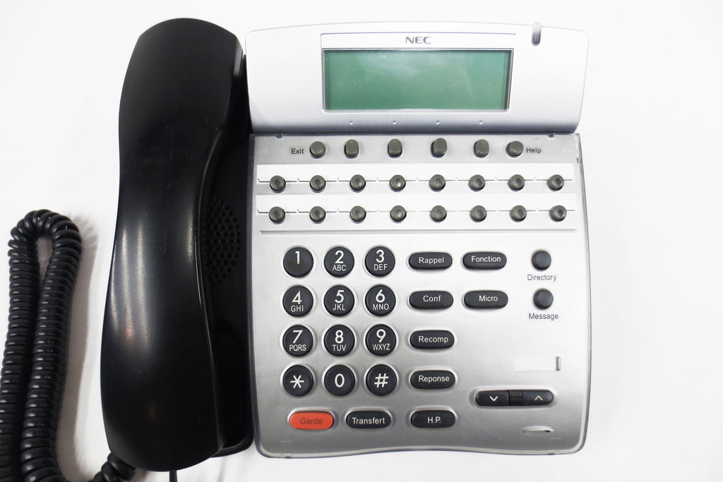 NEC DTH-16D-1 Office Speaker Phone 16 Lines, LCD, Adjustable Stand, Manual