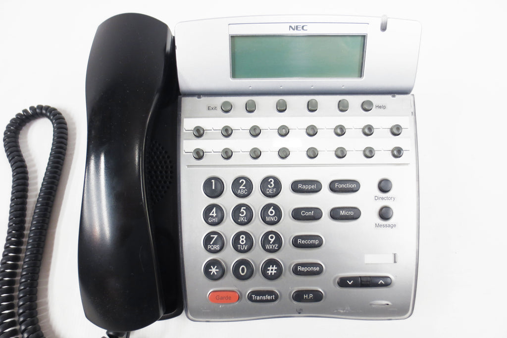 NEC DTH-16D-1 Office Speaker Phone 16 Lines, LCD, Speakerphone, Manual