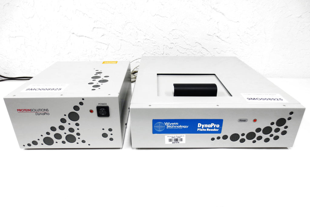 Wyatt DynaPro Laboratory Well Plate Reader System w/ Units DP-PR-03 and E-50-830