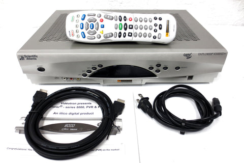 Activation Ready Explorer 8300HD+ 320 GB Videotron PVR Cable Box Recorder HDMI