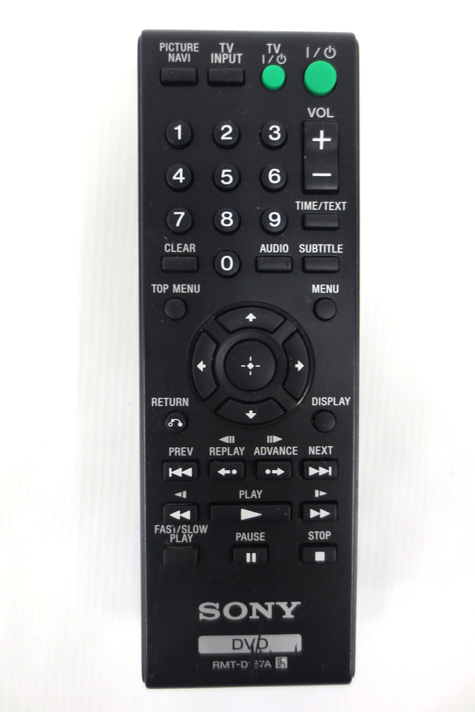 Genuine Sony DVD Remote Control Model RMT-D187A