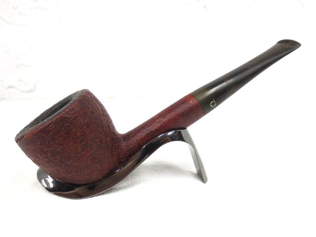 "Vintage Danmore Denmark 6"" Long Straight Estate Tobacco Pipe, Special Red"