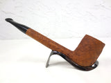 "Vintage Ben Wade 7"" Long Straight Estate Tobacco Pipe, Rock Grain Wood"