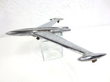 Vintage 1956 Oldsmobile Chrome Hood Ornament, Jet Plane Rocket, Rat Rod