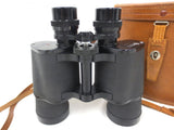 Vintage Marine Army Binoculars 6X50 by Arl Wetzlar Germany with Leather Case