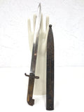 "WWI Swedish Mauser Bayonet 18"", Locking Scabbard, Carl Gustaf, Crown Over C"