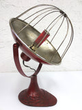 Vintage Antique Heat Lamp, Art Deco Heater, Ornate Cast Iron, Superior Electric