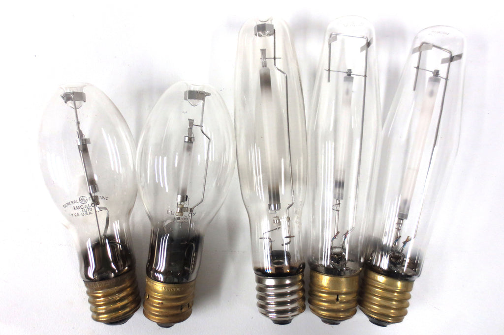 Lot of 5 New High Pressure Sodium Light Bulbs LU70 LU100 LU250 LU400 GE Sylvania