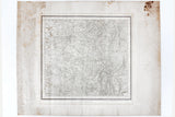 Antique 1878 Victorian Map of Greater Manchester England, Ordnance Colonel Colby